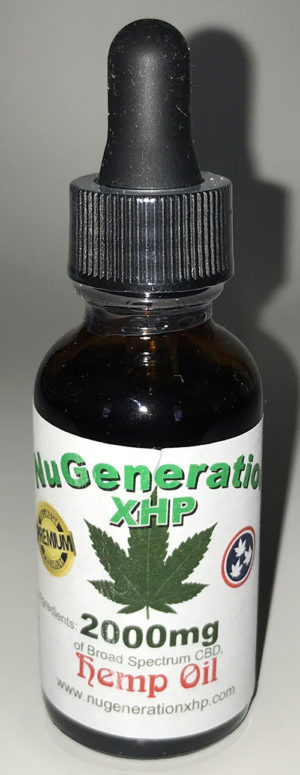 2000 mg Hemp Oil